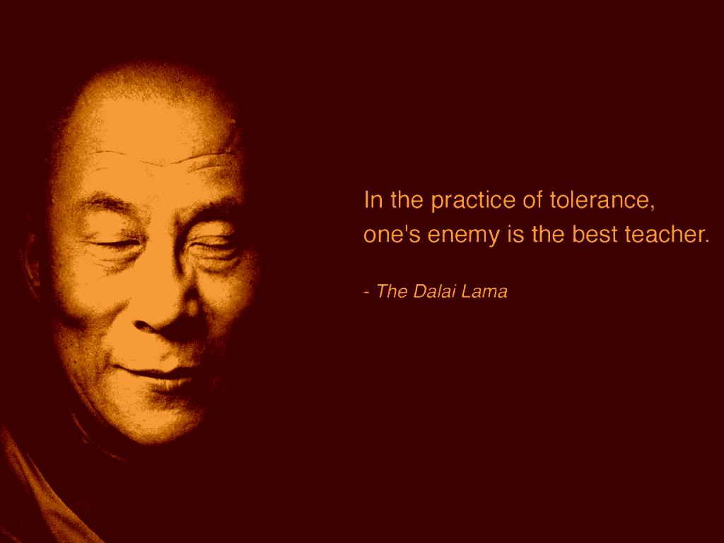 Tolerance and compassion